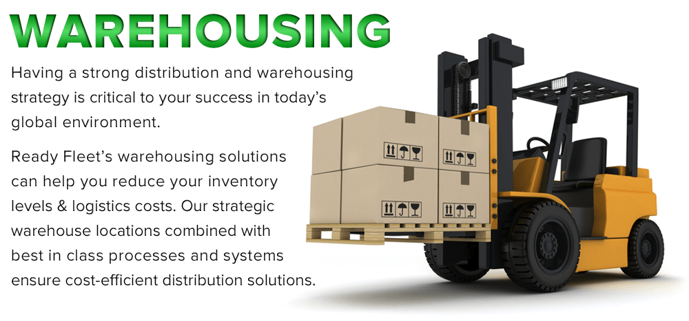 warehousing services flyer