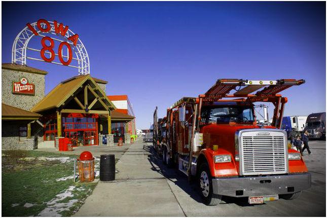 Iowa 80 Truck Parking