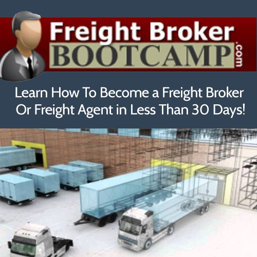 Freight Broker Training Bootcamp