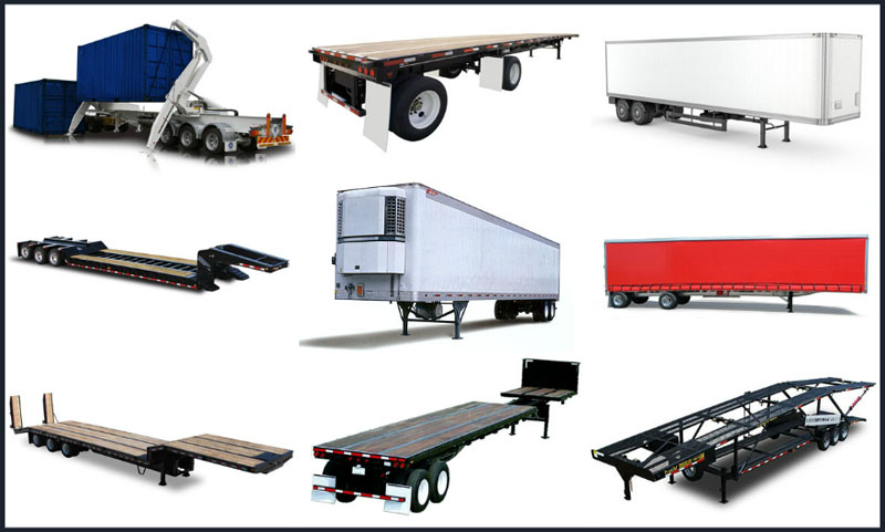 10 Most Popular Freight Truck Trailer Types