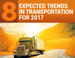 8 Expected Trends Transportation Logistics 2017