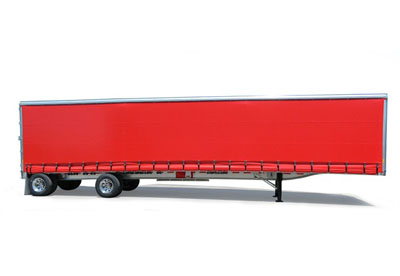 Curtain Side Van Trailer