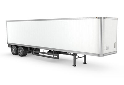 Dry Box Van Trailer