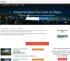Getdigsy Warehouse For Rent