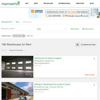 My Property Warehouse For Rent