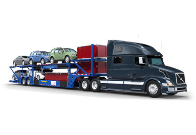 Vehicle Carrying Trailer