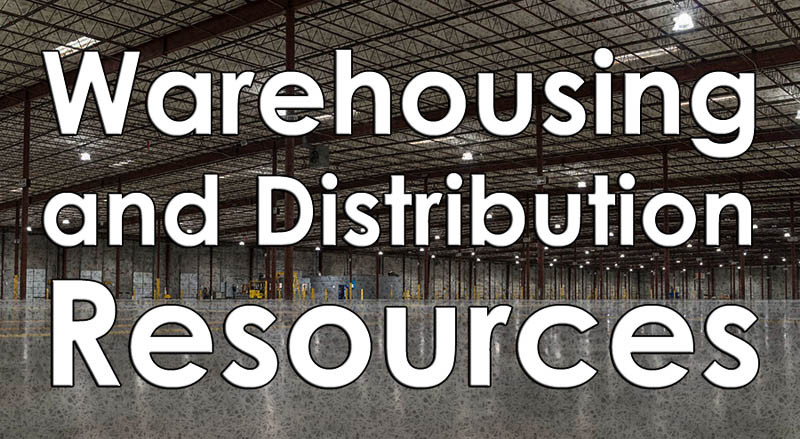 Warehousing and Distribution Resources