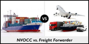 NVOCC vs Freight Forwarder