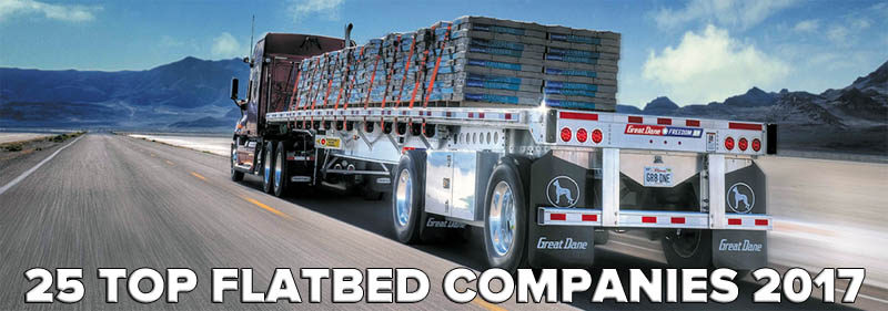 25 Top Flatbed Trucking Companies of 2017