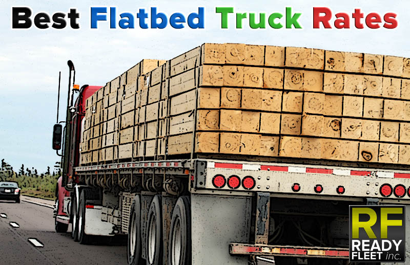 Flatbed Truck Rates | Best Flatbed Trucking Quotes