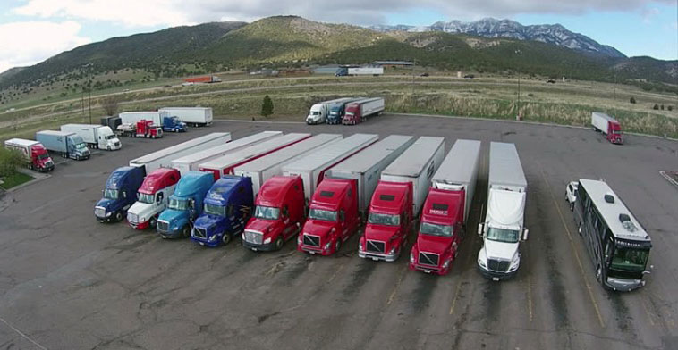 Semi Truck Parking Spaces