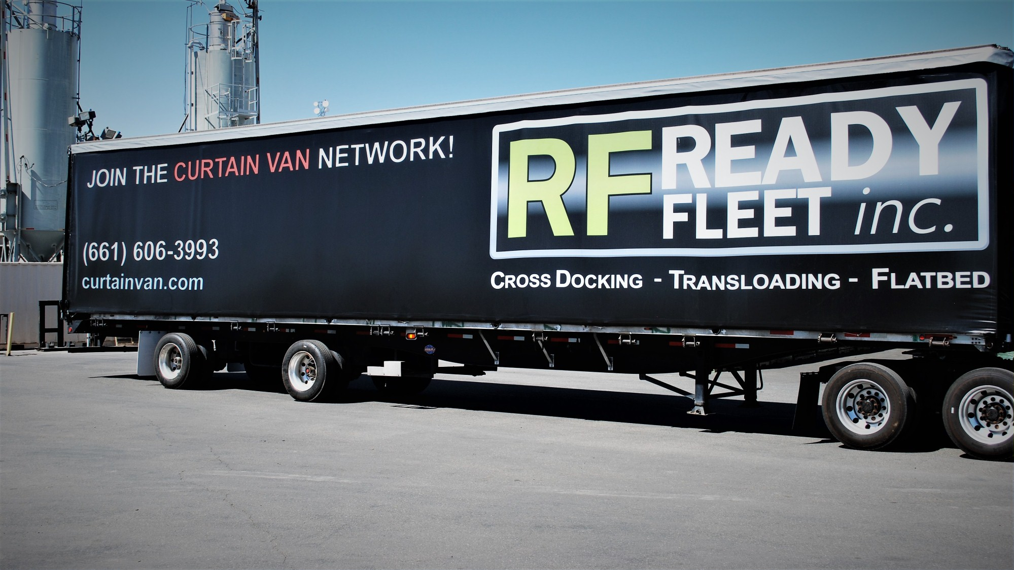 Exceptional Curtain Van Trailer California Ready Fleet